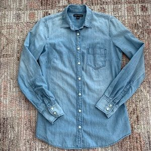 J Crew Mercantile Chambray shirt
